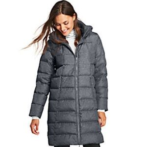 Lands End Women's Winter Long Down Coat